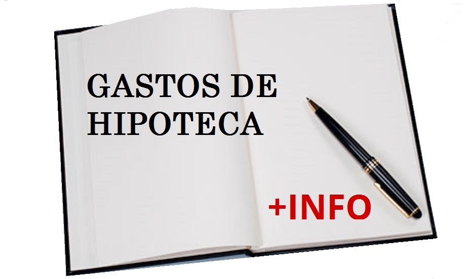 GASTOS DE HIPOTECA