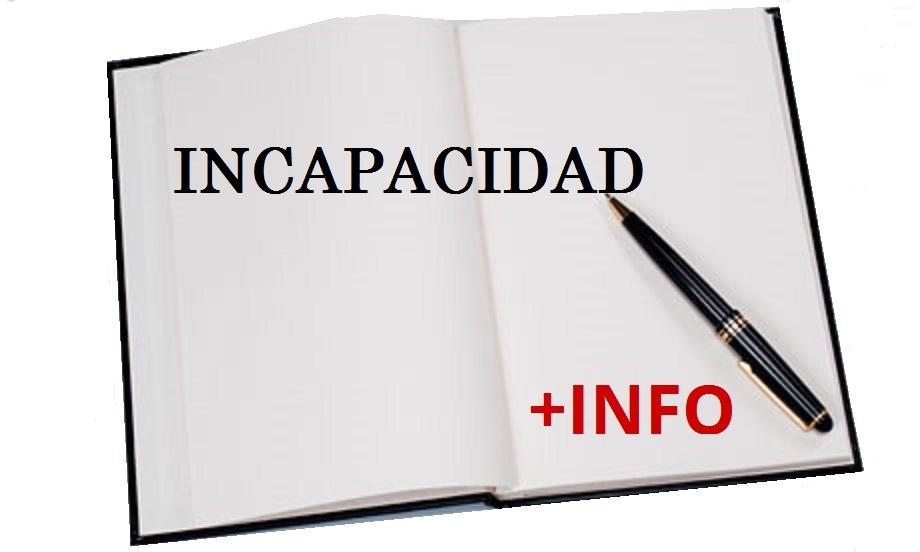 INCAPACIDAD